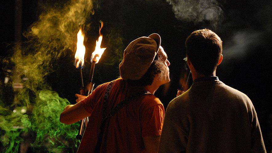 Filamento el Farolero - Espectaculo de malabares con Fuego