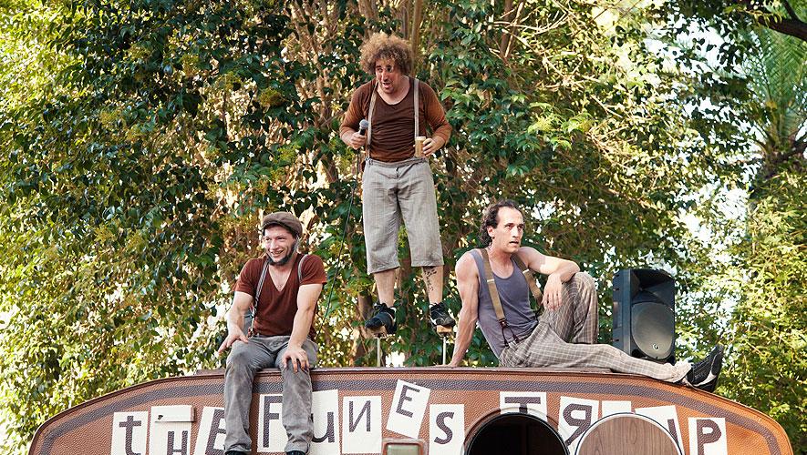 The Funes Troup-Espectáculo de teatro callejero